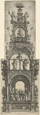 Triumphal Altar with Stages in the Life of Christ