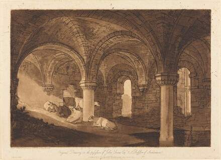 Crypt of Kirkstall Abbey
