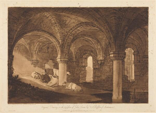 Crypt of Kirkstall Abbey