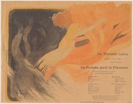Théâtre Libre: La Fumée, puis la Flamme