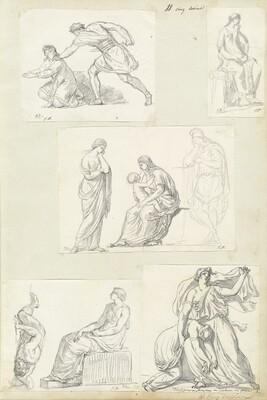 Roman Album No. 4: Italian Landscapes and Antiquities