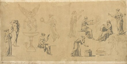 Studies of Classical Women, with Eros