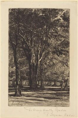 Kensington Gardens (The Larger Plate)