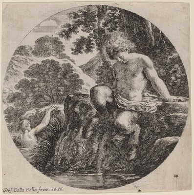 Young Satyr at the Bank of a Stream