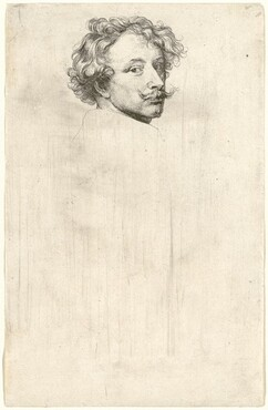 Sir Anthony van Dyck, Self-Portrait, probably 1626/1641probably 1626/1641