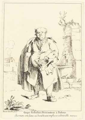 Gaspar Gribolari Brocanteur à Padoüe (Gaspar Gribolari, Second-Hand Dealer in Padua)
