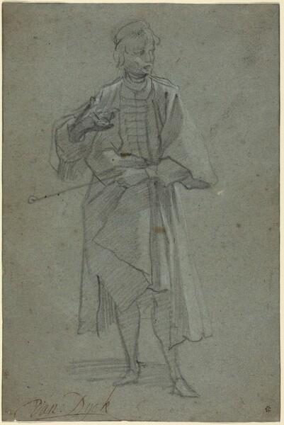 Figure of a Man [recto]