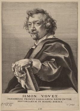Robert van Voerst, Sir Anthony van Dyck, Simon Vouet, probably 1626/1641probably 1626/1641