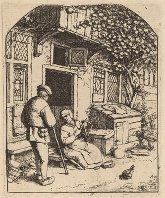 Woman Winding upon a Reel (La Devideuse)