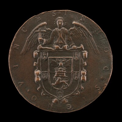 Shield of Arms Held by an Angel of the Resurrection [reverse]
