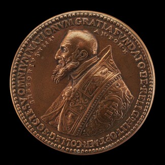 Gregory XIII (Ugo Buoncompagni, 1502-1585), Pope 1572 [obverse]
