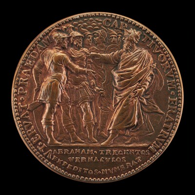 Abraham and His Captains Met by Melchizedek [reverse]