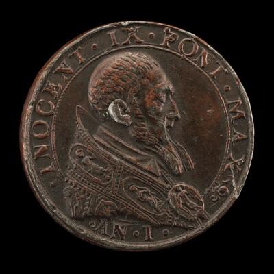 Innocent IX (Giovanni Antonio Facchinetti, 1519-1591), Pope 1591 [obverse]