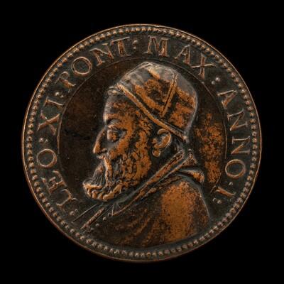 Leo XI (Alessandro Ottaviano de' Medici, 1535-1605), Pope 1605 [obverse]