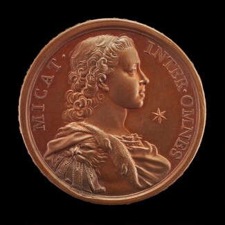 Prince Charles Edward Stuart, 1720-1788 (The Young Pretender, Bonnie Prince Charlie) [obverse]