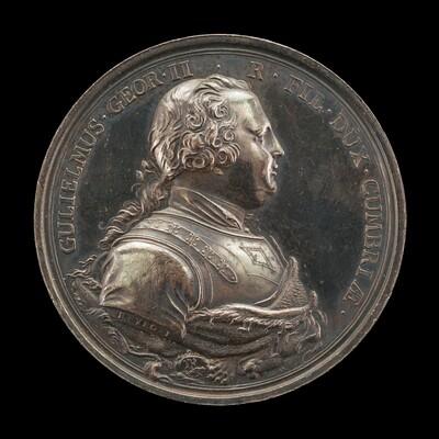 William, 1721-1765, Duke of Cumberland [obverse]