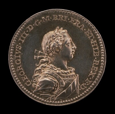 Coronation of King George III [obverse]