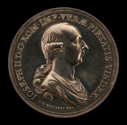Joseph II, 1741-1790, Holy Roman Emperor 1765 [obverse]