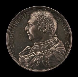 Death of King George III [obverse]