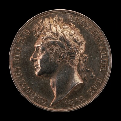 Coronation of King George IV [obverse]
