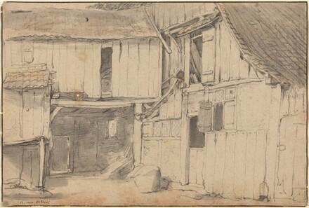 Interior of a Courtyard