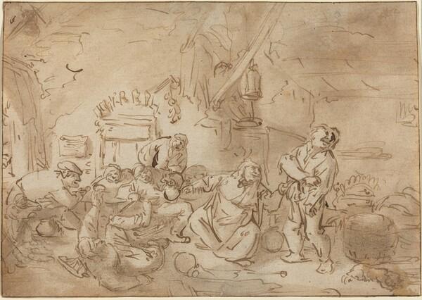 Brawl in an Inn