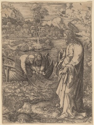 Christ Summoning Peter
