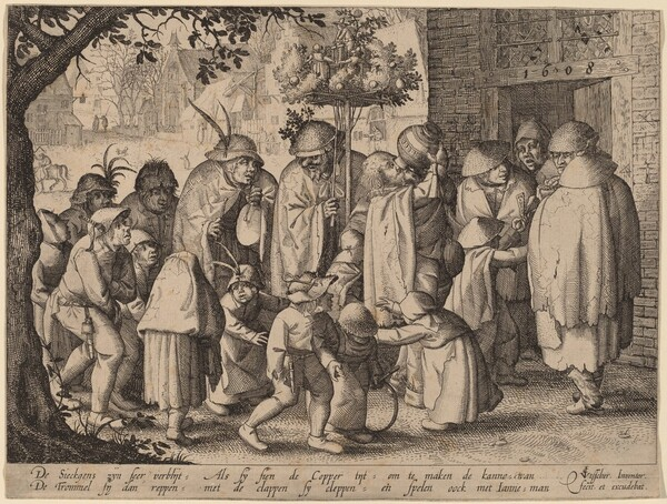 Procession of Feasting Lepers