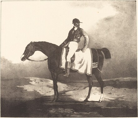 British Horse and Jockey