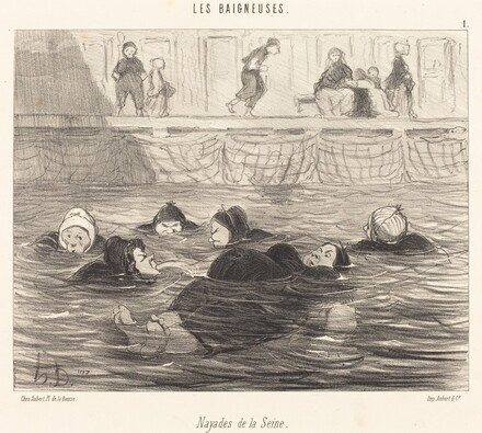 Nayades de la Seine (Sea Nymphs of the Seine)