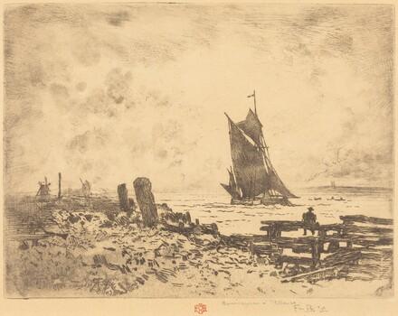 La Petite Marine - Souvenir de Medway (counterproof)