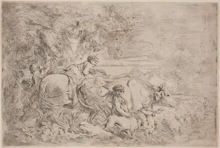 Shepherds Following Their Flock