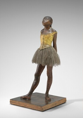 Edgar Degas, Little Dancer Aged Fourteen, 1878-18811878-1881