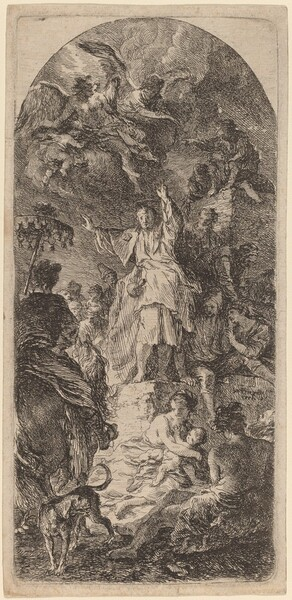 Saint James Major Preaching