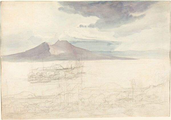 Panoramic Views of Vesuvius and Monte Pellegrino