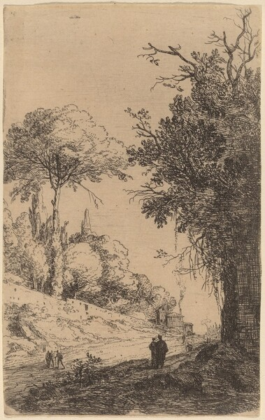 Part of the Via Flaminia