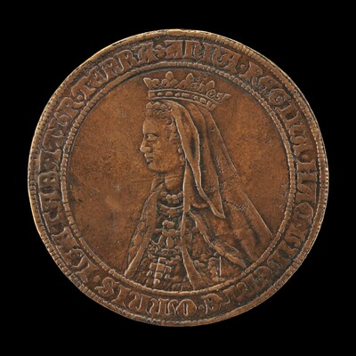 Anne of Brittany, died 1514, Wife of Louis XII 1498 [reverse]