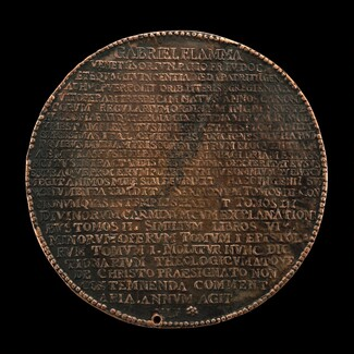 Inscribed Record of Fiamma's Life and Works [reverse]