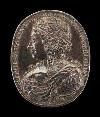 Sophia Amelia, 1628-1685, Wife of Frederick III 1643 [reverse]