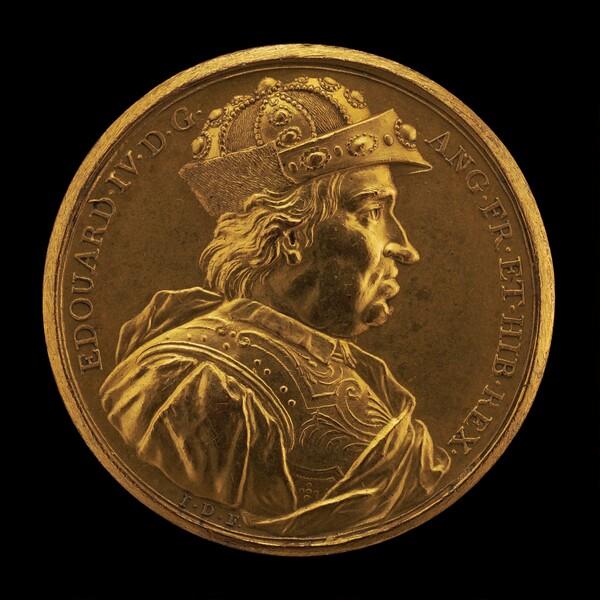 Edward IV, 1442-1483, King of England 1461 [obverse]