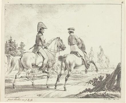 Erlangen Students on Horseback