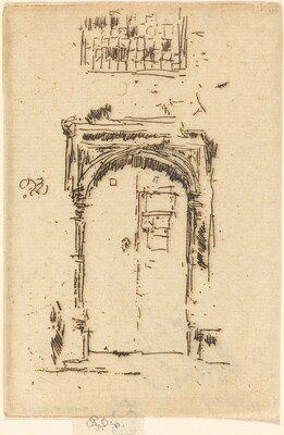 Church Doorway, Edgemere