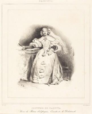 Costume de Paquita dans la Reine d'Espagne
