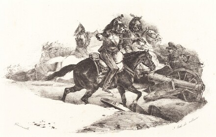 Cuirassiers Charging