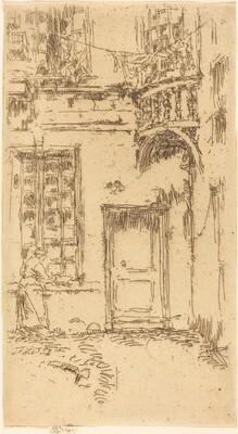 Courtyard, Rue P.L. Courier