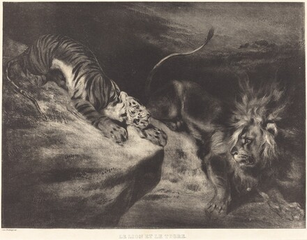 Le Lion et le tigre