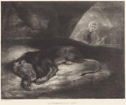 Le Sommeil du lion