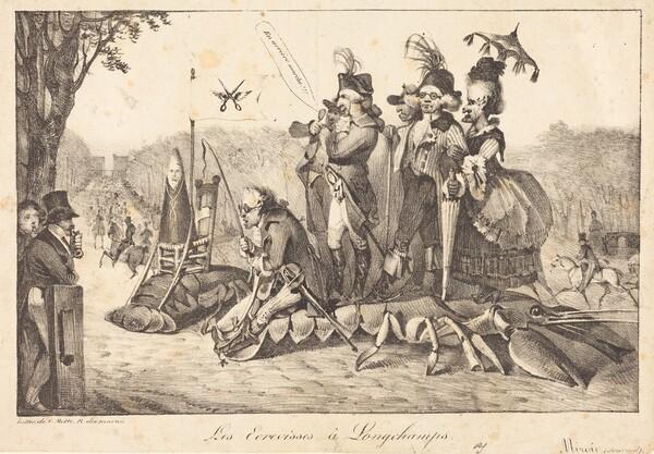 Les Ecrevisses à Longchamps
