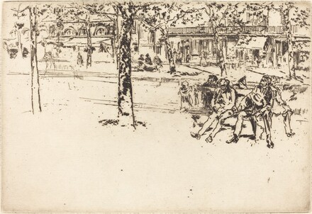Le Boulevard Poissoniere