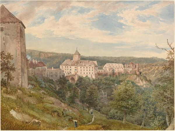 Eichhorn Castle at Evening